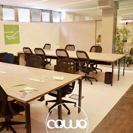 Spazio Coworking Cowo a Napoli presso Centro Direzionale